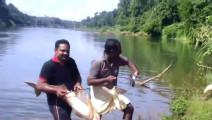 印度人常用的钓鱼方法,钓大鱼不费力,一般人还真学不了!