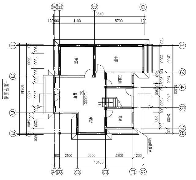 设计图分享 广东新农村图集  新农村自建房 3层15米x13米 一楼商铺 含