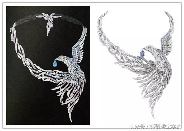 如此逼真的珠宝手绘, 图纸和实物您还分得清吗?