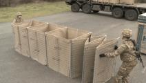 能折叠的围墙,大型卡车都撞不坏,堪比铜墙铁壁