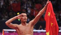 林丹十大罕见绝技 奥运比赛中换拍空前绝后