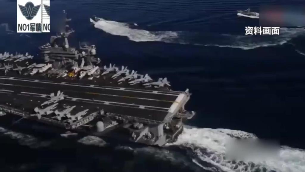 外媒称美航母战斗群抵进南沙海域,美军官叫嚣: 美国是全球海军!