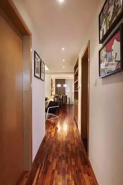 全屋铺木地板只花8万