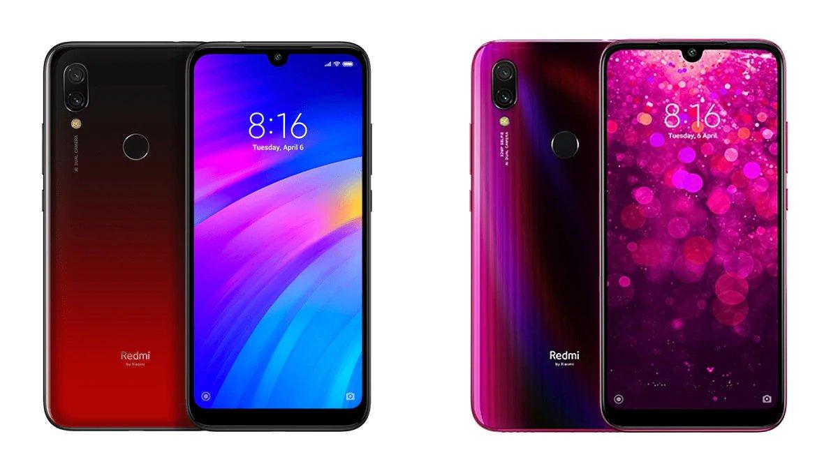 Redmi 7 vs Redmi Y3: 小米全新智能手机比较