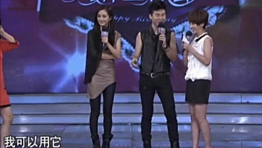 胡彦斌现场即兴创作一首歌送给杨幂,音乐奇才不是盖的!