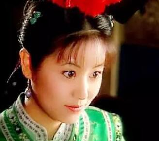 古装绿衣女子蒋欣最漂亮