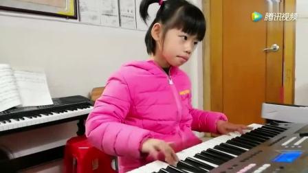 电子琴入门简谱指法练习