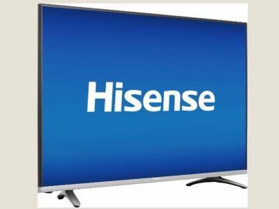 三星价值620美元(约合人民币4201元)的50ku6300型号电视,vizio价值520