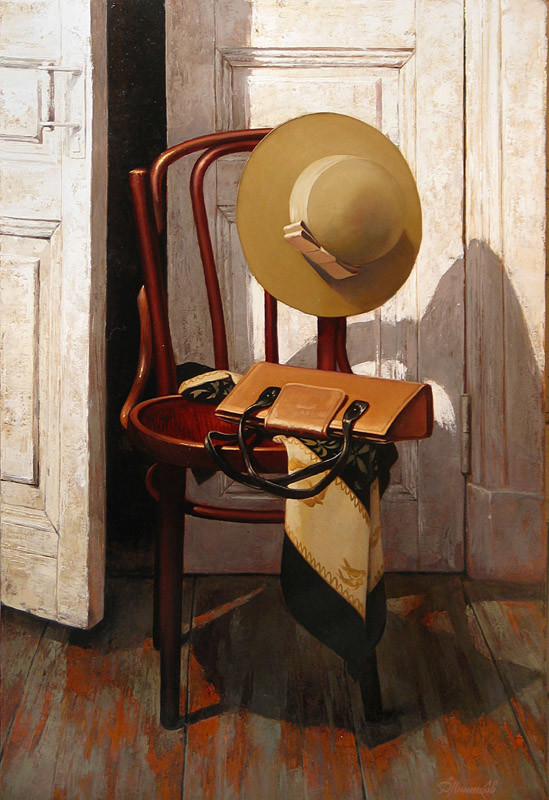 俄罗斯照相写实画家,Dmitri,Annenkov,油画作品欣赏