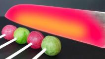 科学实验,1000°高温小刀切割一些物品会发生什么?