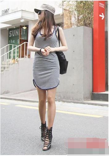 连衣裙配什么鞋子_背心裙搭配什么鞋子更好看 多款背心裙搭配鞋子示范
