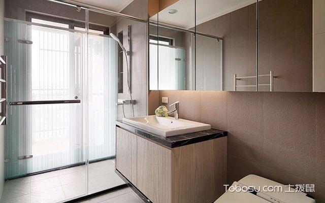 45平米二房一厅装修图, 小空间大格局超实用设计