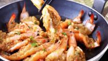 蒜蓉大虾,营养丰富,好吃又下饭