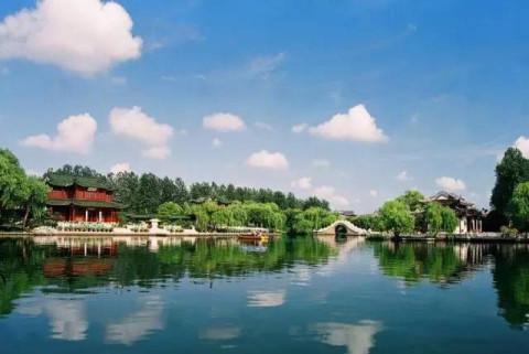 淮安茶馓 扬州 瘦西湖风景区 瘦西湖风景区位于扬州市北郊,因湖面