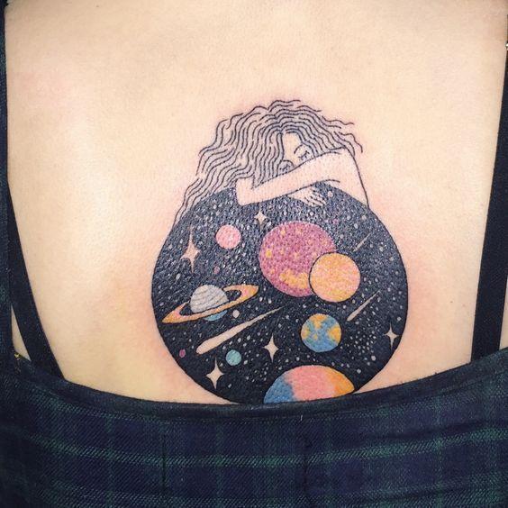 个性星球图案纹身_第7张图片