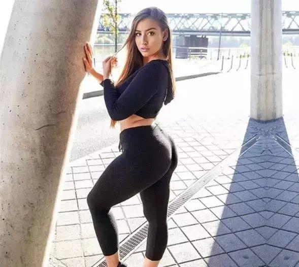 1米55的健身美妞, 有双粗壮的小短腿, 真实体重令人吃惊  第2张