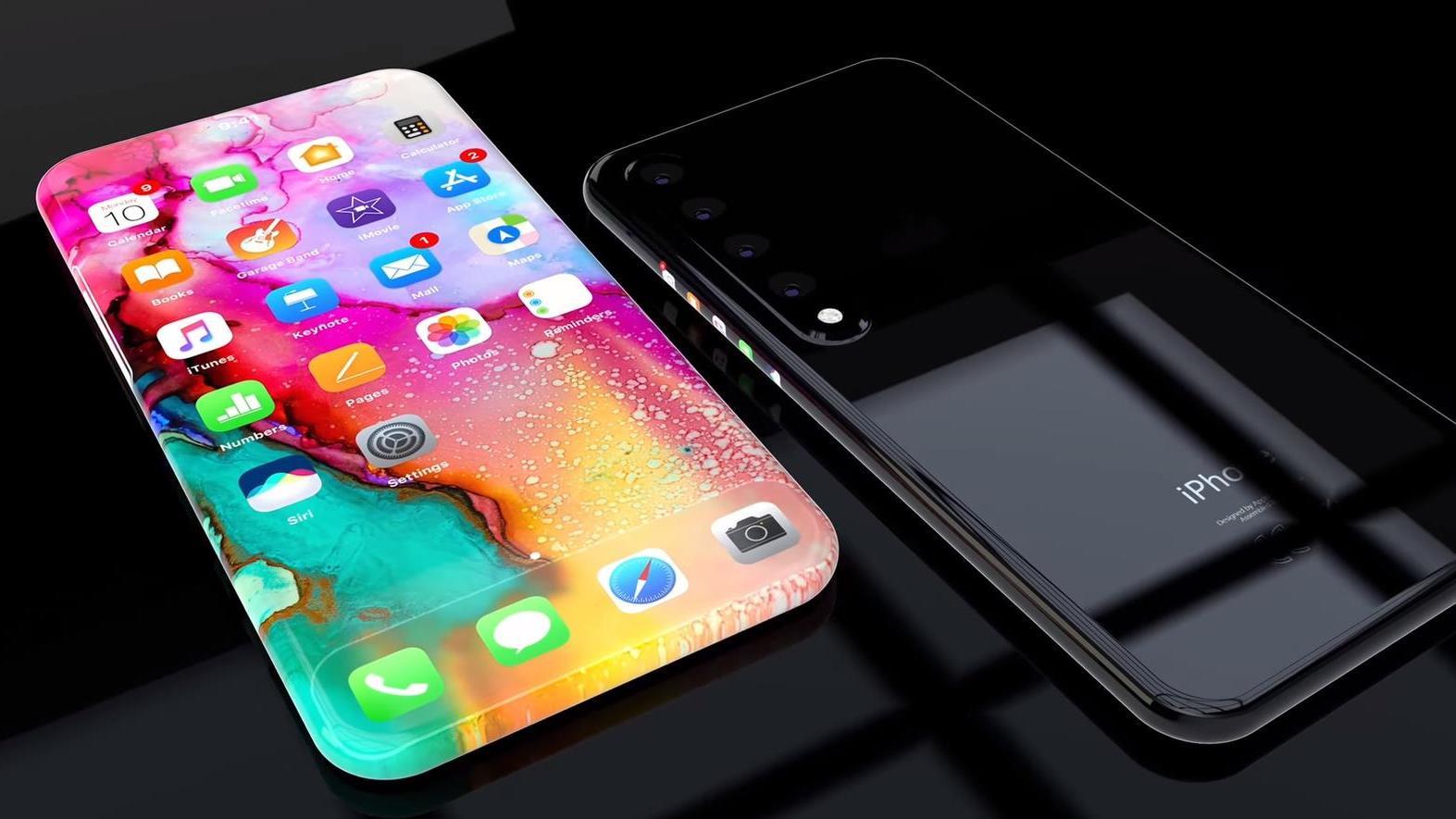 苹果不甘示弱: iOS13+A13处理器+100%全面屏, 终于取消刘海屏了