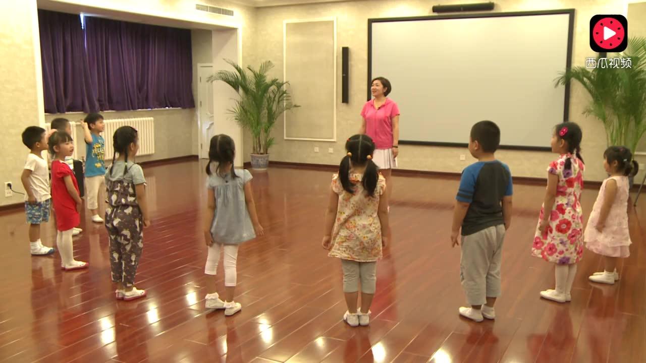 幼儿园中班律动: 摘果子舞