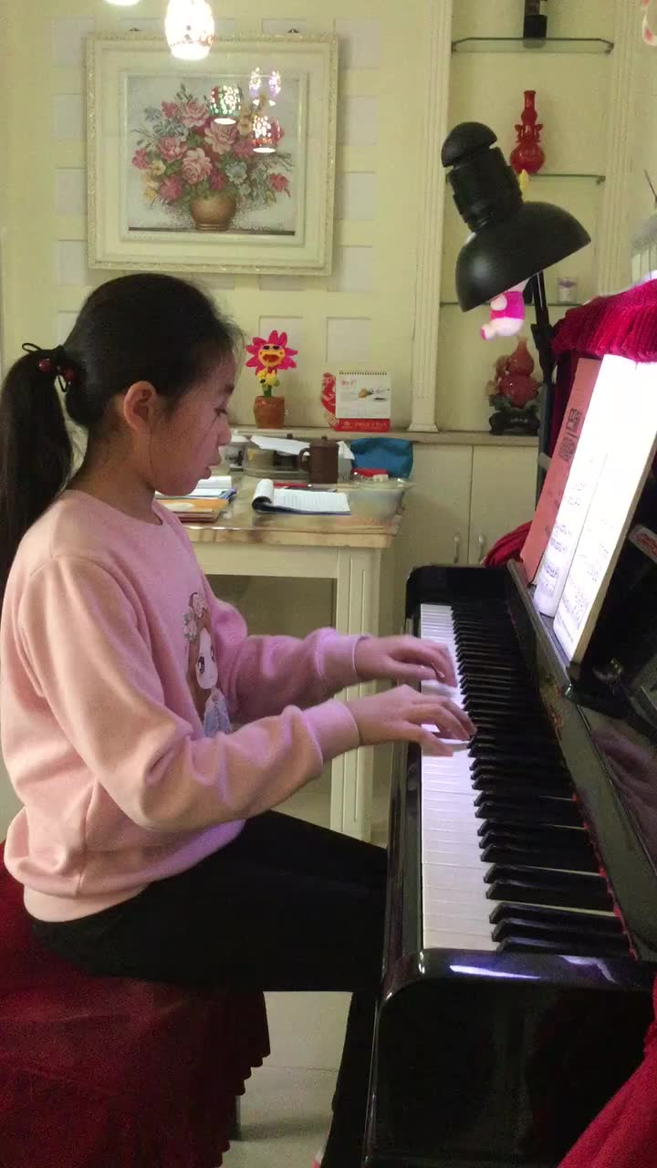莱蒙钢琴练习曲集 二级钢琴练习曲谱