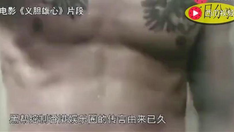 陈惠敏 日本山口组组长只有我一人,香港电影都是黑社会控制的!