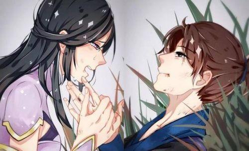 王者荣耀至尊宝和紫霞仙子专用情侣头像图片大全