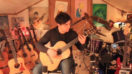 吉他入门教程 布列舞曲