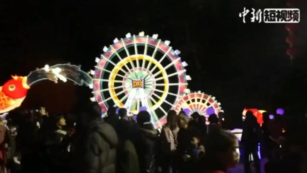 百万花灯庆新春,广州市民尽享岭南特色春节花灯会