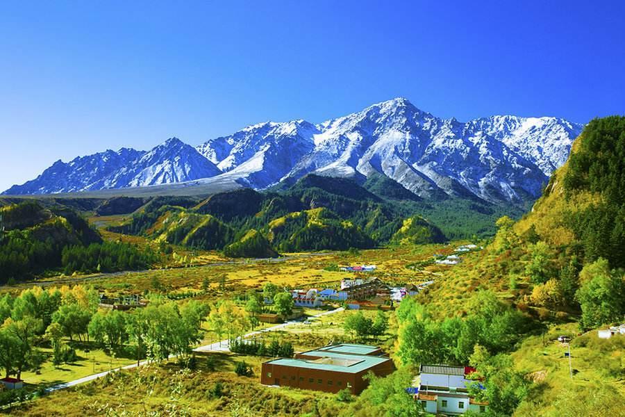 描写新疆风景的作文