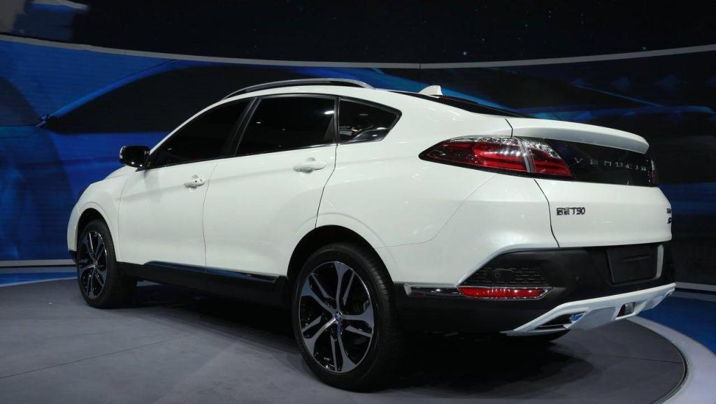 国产小排量T动力轿跑suv,酷似宝马X6的大溜背设计,完胜吉利博越