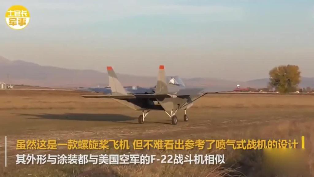 外国牛人自制F-22第五代战机 首次飞行居然成功了