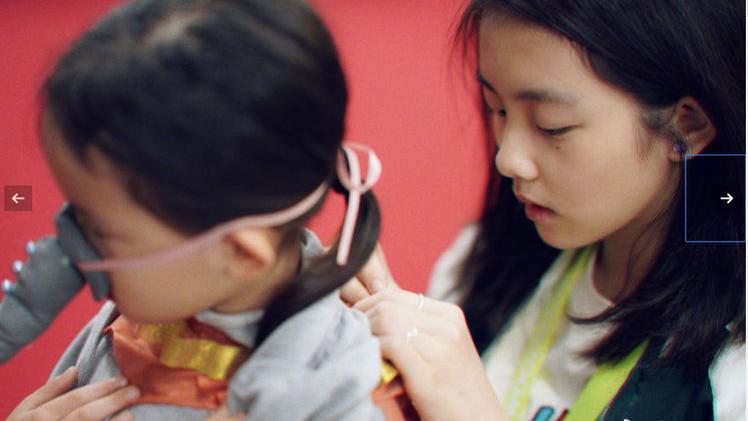 多多亲自动手做小飞象, 成品实在太惊艳 黄磊小女儿参加学校活动,