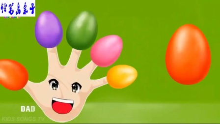 谈论本手指家庭和学习颜色-儿童的颜色动画教育卡通编辑 火影忍者小猪图片