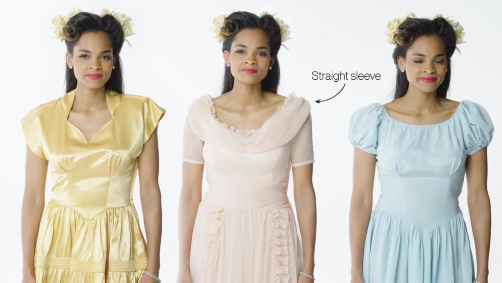 时尚百年 伴娘礼服的魅力