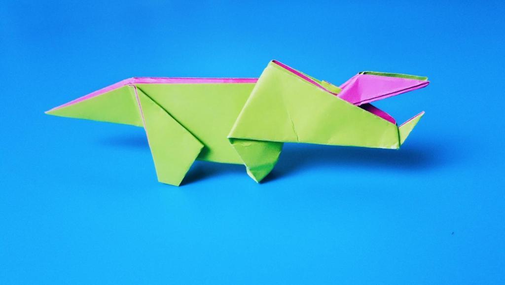 折纸大全67 折纸恐龙之翼龙