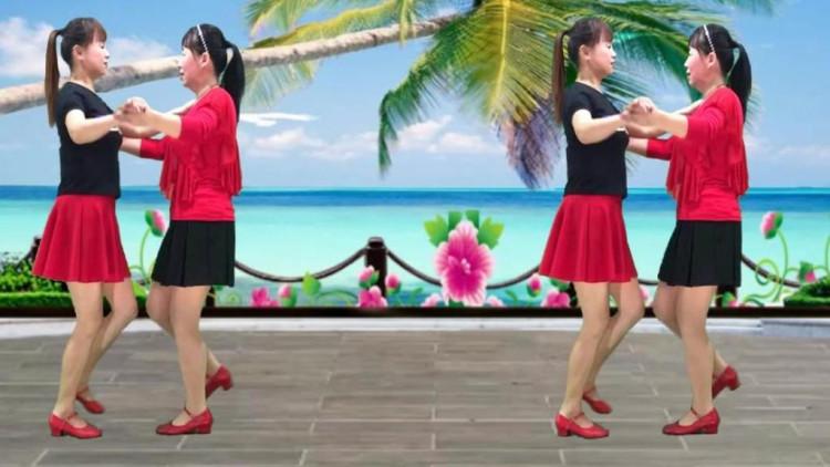 双人舞慢四步_双人舞《今生的爱就是你》广场舞-祁隆视频 _网络排行榜