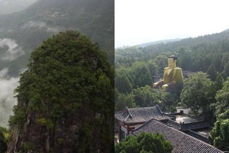 放假就去千佛山风景区 人满为患只为看这个