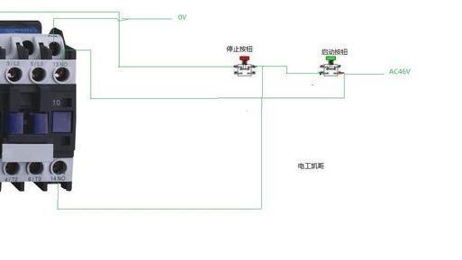 电工基础: 交流接触器接线及自锁电路