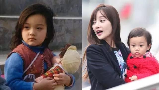 刘亦菲章子怡小时候就那么美, 周迅李小璐傻傻分不清楚!