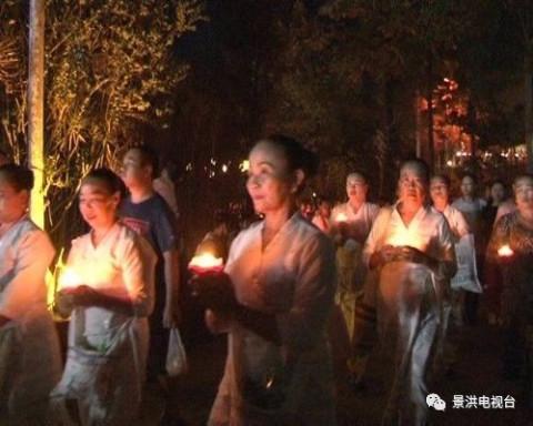 [视频]告庄西双景举行出雨安居暨开门节庆祝仪式