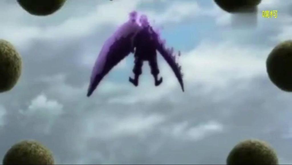 火影忍者 佐助最厉害的时期 8.5匹尾兽以及须佐能乎!