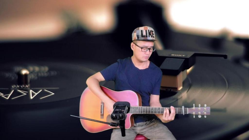简单吉他指弹 童年