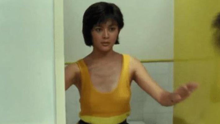 这是关之琳演技最炸裂的一次,面对这样的镜头却纹丝不动,网友:这才是女神
