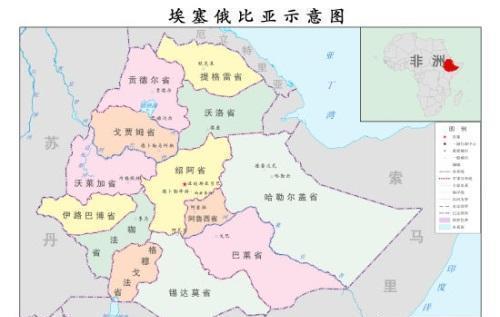 埃塞俄比亚是如何从沿海国家变成了内陆国?