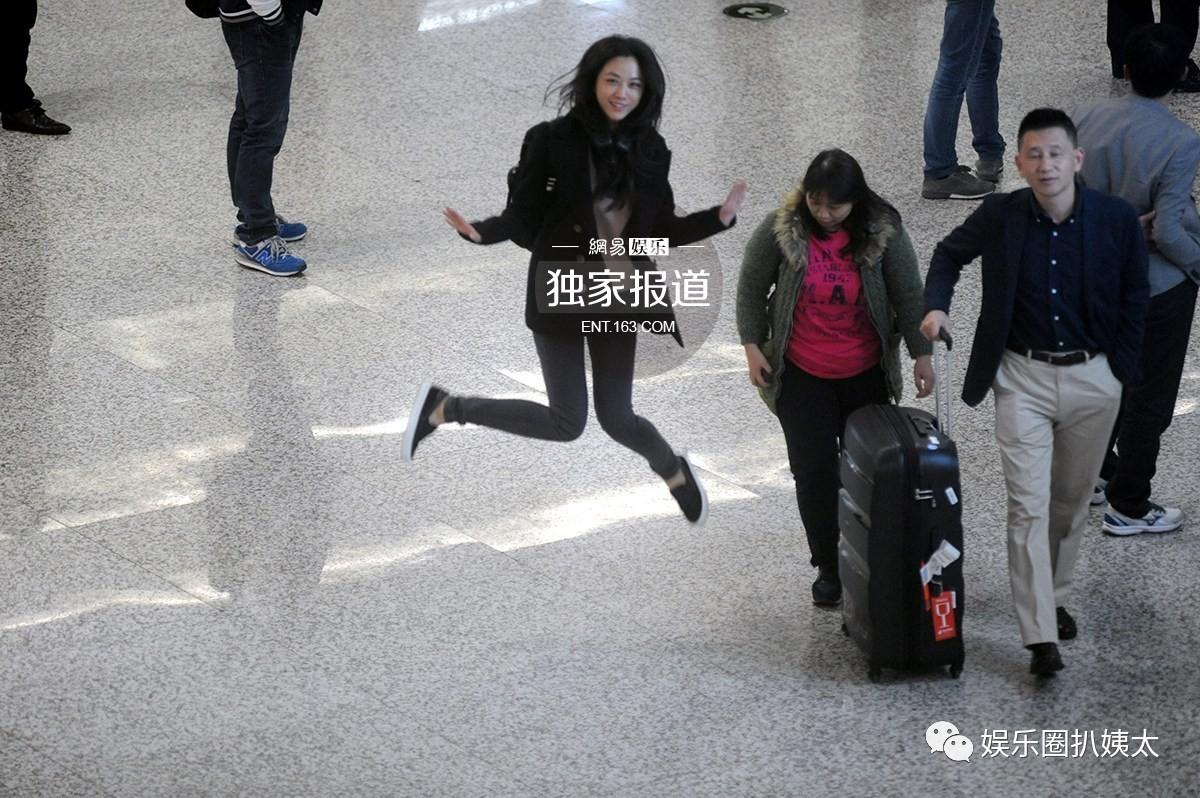 郭碧婷机场素颜被嘲差太大?