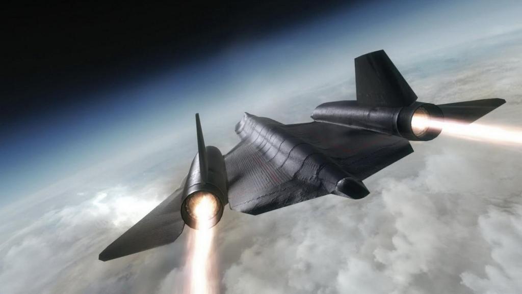 防空导弹都赶不上: 美国这架飞机速度达到6倍音速!