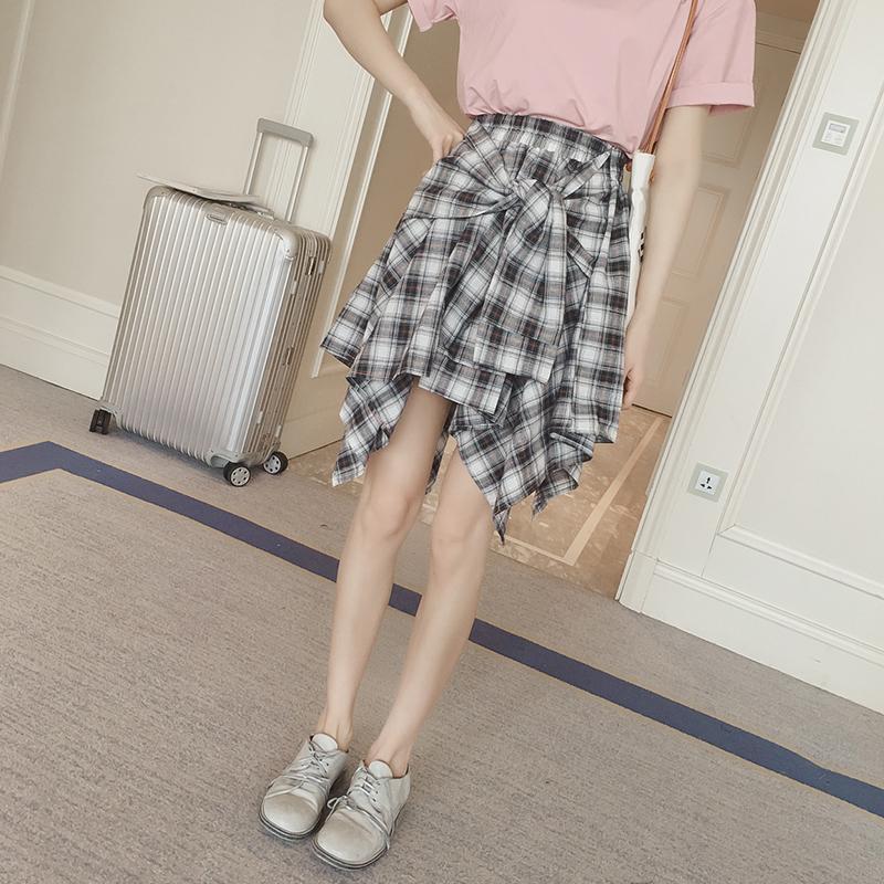 半身裙夏装_夏天清爽又显瘦的搭配, 雪纺衫夏装来款半身裙吧, 时髦又凹造型