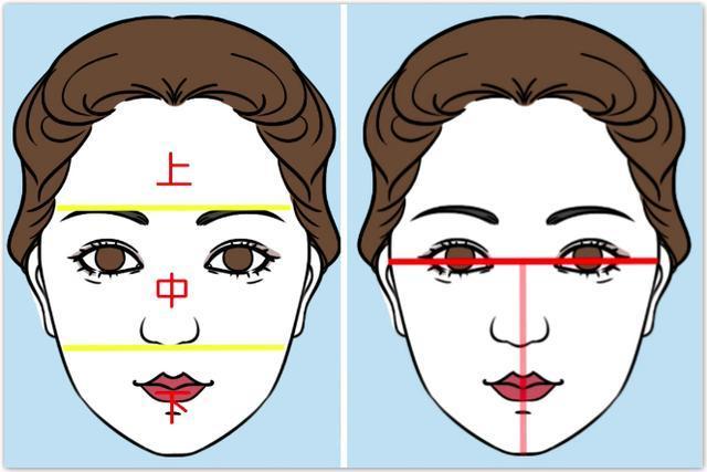 动漫脸型图片