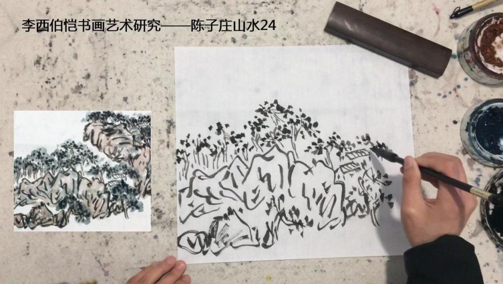 陈子庄书画艺术研究24,画画要画的像很难,但要画的不像更难