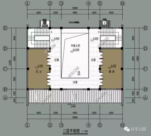 设有1中堂2客厅5卧室4卫生间1棋牌室1书房1