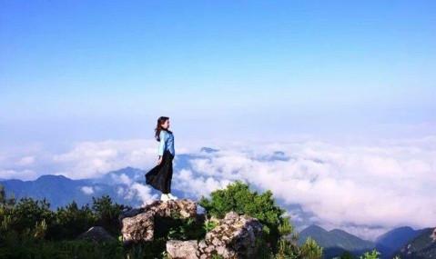 湖北黄石天堂寨风景区
